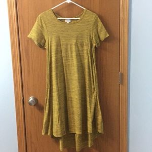 LuLaRoe Carly high low dress